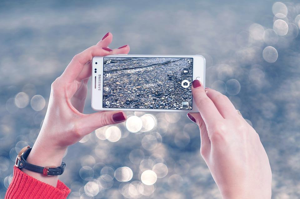 foto maken met telefoonje
